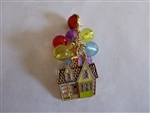 Disney Trading Pin 129323 Loungefly - Up House With Beaded Balloons