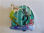 Disney Trading Pin  129415 DS-June 2018 Park Pack - Peter Pan Shadow - Version 3