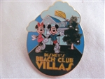 Disney Trading Pin 12953: WDW - Disney's Beach Club Villas (Open Mouse)