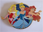 Disney Trading Pins 129599 ACME/HotArt - Golden Magic - All Stars - AURORA Cinderella ARIEL