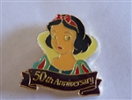 Disney Trading Pin 1296 DLR - Snow White 50th Anniversary