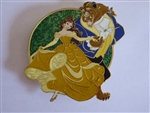 Disney Trading Pins  129603 ACME/HotArt - Golden Magic - All Stars - Belle and Beast
