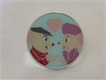 Disney Trading Pins 129657 Loungefly - The Rescuers Round Love Enamel Pin