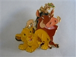 Disney Trading Pin 129704 Loungefly - Simba and Friends