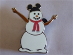 Disney Trading Pin 12972 Mickey Ears Snowman - Surprise Pin