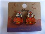 Disney Trading Pins 129784 Loungefly - Halloween Jack O'Lanterns Chip & Dale Set