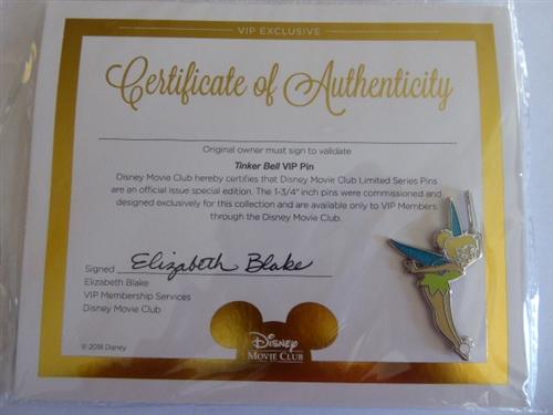 Disney Movie Club VIP #70 - Tinker Bell