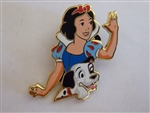 Disney Trading Pin  129847 ACME/HotArt - Magic Carpet Ride - Snow White and Dalmatian Pup