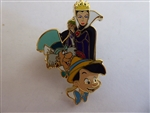 Disney Trading Pin 129854 ACME/HotArt - Magic Carpet Ride - Evil Queen, Mad Hatter and Pinocchio