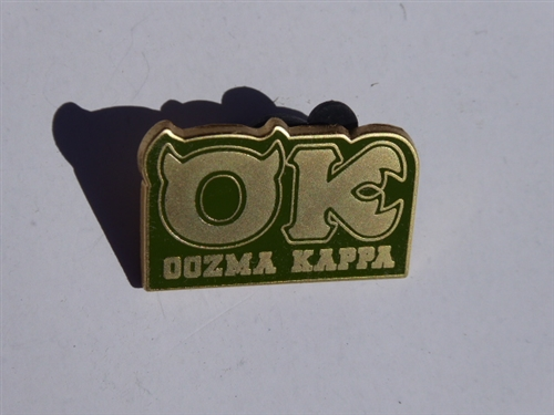 Disney Trading Pin 129867 Ds Monsters University Fraternity Set Oozma Kappa