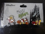 Disney Trading Pin 130094 Tower of Terror Bellhop set - Goofy Donald and Pluto