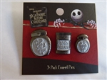 Disney Trading Pins 130234 Loungefly - Nightmare Before Christmas - Jars Set