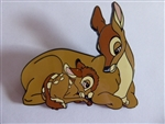 Disney Trading Pins 130272 ACME/HotArt - Classic Cutout - Family Portrait 1 - Bambi with Mother