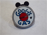 Disney Trading Pin 130371 DLR - Hidden Mickey 2018 - Toontown Signs - Goofy's Gas