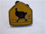 Disney Trading Pin 130372 DLR - Hidden Mickey 2018 - Toontown Signs - Chicken Crossing
