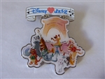 Disney Trading Pin 130386 DLP - Disney Loves Jazz - The Aristocats