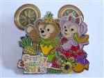 Disney Trading Pins 130409 HKDL - Fruity Summer 2018 - Duffy and Shellie May