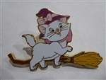 Disney Trading Pin 130496 DSSH - Cats on Brooms - Halloween Marie