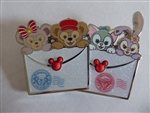 Disney Trading Pins 130698 SDR - Duffy and Friends Envelopes