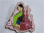 Disney Trading Pin 130700 Sparkle Castle - Mulan