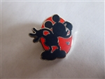 Disney Trading Pin 130719 DLR - Hidden Mickey 2018 - Red Silhouette - Mickey Thinking