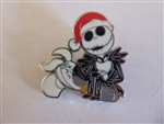 Disney Trading Pin  130868 Nightmare Before - Jack Skellington and Zero