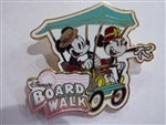 Disney Trading Pin 130870 Boardwalk Cart - Mickey & Minnie