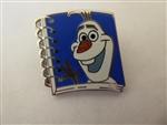 Disney Trading Pin 131018 Magical Mystery - 13 Notebook - Olaf