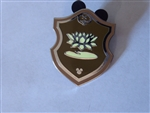 Disney Trading Pin 131140 WDW - Hidden Mickey - 2018 - Princess Crest Emblem - Tiana