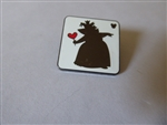 Disney Trading Pins 131178 WDW - Hidden Mickey 2018 - Alice Card Silhouette - Queen