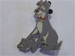 Disney Trading Pin 131354 ACME/HotArt - Classic Cutout - Family Portrait II- Tramp and Scamp
