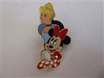 Disney Trading Pin 131393 ACME/HotArt - Magic Carpet Ride – Princess Cinderella and Minnie Mouse