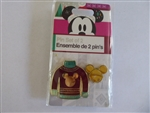 Disney Trading Pin  131460 DS - Holiday 2018 - Red Sweater Set