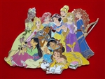 Disney Trading Pin  131473 ACME/HotArt - Treasured Classics Princess - Super Jumbo