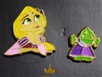 Disney Trading Pin 131624 Loungefly - Rapunzel and Pascal
