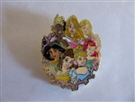 Disney Trading Pins 131659 Princess Group 2018