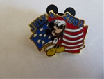 DLR - 4th of July 2002 Cast Member Pin (Mickey)