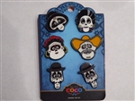 Disney Trading Pin 131783 Loungefly - Coco Faces