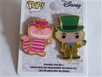 Disney Trading Pin 131806 Loungefly - Funko Pop! Mad Hatter and Cheshire Cat