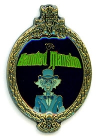 Disney Trading Pins Haunted Mansion Oval Frame Ezra Ghost