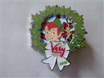 Disney Trading Pin 132061 WDW Magic Kingdom 2018 Very Mery Christmas Party Event Peter Pan and Tinker Bell