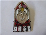 Disney Trading Pin  132066 DLR - Pin of the Month - Windows of Evil - Queen of Hearts