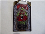 Disney Trading Pin 132067 DLR - Pin of the Month - Windows of Evil - Horned King
