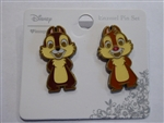 Disney Trading Pin 132237 Loungefly - Chip and Dale