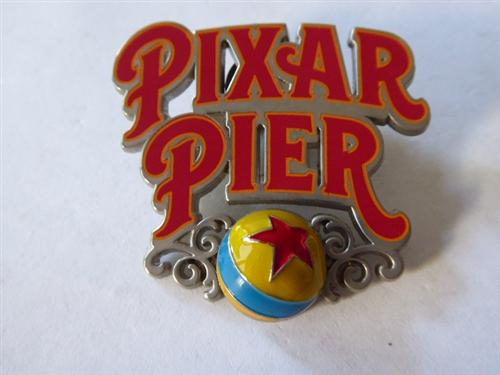 Pixar Pier Logo Disney Pin