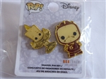 Disney Trading Pin 132413 Loungefly - Funko Pop! Lumiere and Cogsworth