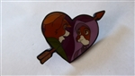Disney Trading Pin 132415 Loungefly - Robin & Maid Marian Heart