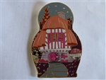 Disney Trading Pin 132447 DSSH - Nesting Dolls - Alice In Wonderland - Mushroom House