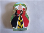 Disney Trading Pin 132448 DSSH - Nesting Dolls - Alice In Wonderland - Queen Of Hearts