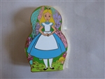 Disney Trading Pin 132449 DSSH - Nesting Dolls - Alice In Wonderland - Alice